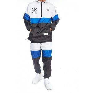 Other - Men Blue and White SP Papka Hoodie